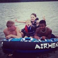 Photo taken at Thagard Lake by Maria P. on 6/23/2013