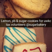 Photo taken at Sugar Bakery + Cafe by Kerry C. on 4/16/2016