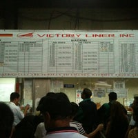 Photo taken at Victory Liner (Cubao Terminal) by Sean T. on 12/29/2012