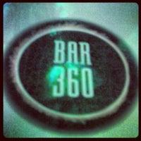 Photo taken at Bar 360 by Sean T. on 10/27/2012