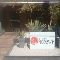 Photo taken at Sushi Koba by Chef Cássio H. on 5/4/2013