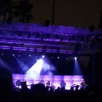 Photo taken at Hollywood Forever Cemetery by Luis Q. on 10/24/2013