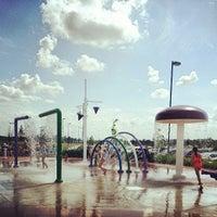 Photo taken at Splash Pad by Jim V. on 5/29/2013