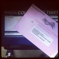 Photo taken at US Post Office by Kris F. on 11/1/2012