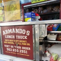 Photo taken at Armando's Lunch Truck by Queena D. on 3/27/2014
