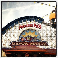 Photo taken at Toy Story Midway Mania! by Tanya H. on 12/6/2012