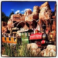 Photo taken at Big Thunder Mountain Railroad by Tanya H. on 10/23/2012
