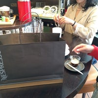 Photo taken at Nespresso Boutique by cho J. on 5/15/2014