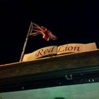 Photo taken at Red Lion Pub by Ryan L. on 2/2/2013