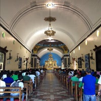 Photo taken at Minor Basilica of Our Lady of the Most Holy Rosary of Manaoag by Lex M. on 11/26/2012