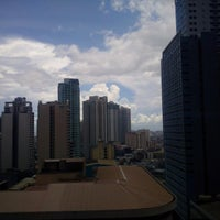 Photo taken at PBCom Tower by Stephanie S. on 7/20/2016