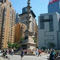 Photo taken at Columbus Circle by Benjy G. on 5/27/2013