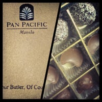 Photo taken at Pan Pacific Manila by Jo A. on 12/25/2012
