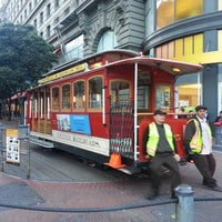 Photo taken at Powell Street Cable Car Turnaround by Joerg on 6/18/2013