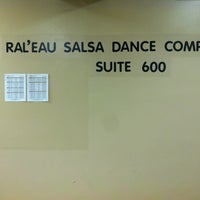 Photo taken at Ral'eau Salsa Dance Company by Racine R. on 10/11/2012