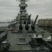 Photo taken at USS Wisconsin (BB-64) by Chad H. on 7/12/2013