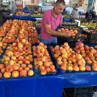 Photo taken at turunçova kapalı pazar yeri by İbrahim T. on 8/26/2016