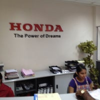 Photo taken at Stafford Motors Service Center by Ashan d. on 11/8/2012