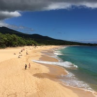 Photo taken at Makena State Park by Mark J. on 8/5/2016