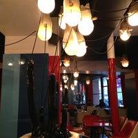 Photo taken at Café Étienne Marcel by Laurent G. on 1/24/2013