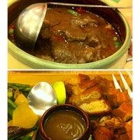 Photo taken at Sérye Café Filipino by Justine T. on 9/16/2014