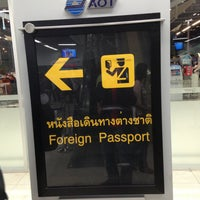 Photo taken at Thai Immigration: Passport Control - Zone 3 by Alexandr M. on 5/9/2013