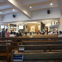 Photo taken at Gereja Katolik Santo Andreas by Sri Rezeki T. on 4/13/2013
