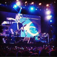 Photo taken at Arena Anhembi by Carolina L. on 10/8/2012