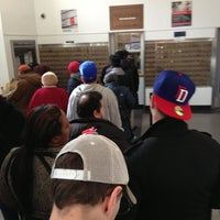Photo taken at US Post Office - Audubon Station by Peggy M. on 3/20/2013