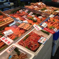 Photo taken at Omicho Market by Kimi L. on 12/3/2012