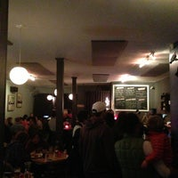 Photo taken at Little Star Pizza by Abram D. on 1/27/2013