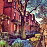 Photo taken at Astor Row by Mark K. on 3/10/2014