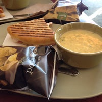 Photo taken at Panera Bread by Alline A. on 4/9/2014