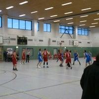 Photo taken at Universitätssporthalle by Nico D. on 9/22/2012