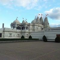 Photo taken at BAPS Shri Swaminarayan Mandir by Stan D. on 3/3/2013
