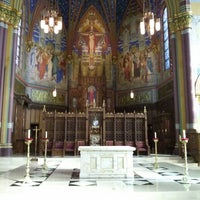 Photo taken at Cathedral of the Madeleine by Felipe Mafra on 10/8/2013