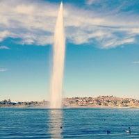 Photo taken at Fountain Park by Jordan Ashley H. on 1/1/2013