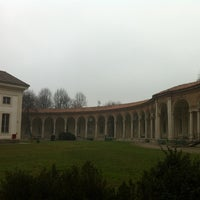 Photo taken at Rotonda della Besana by Ilaria on 1/11/2013