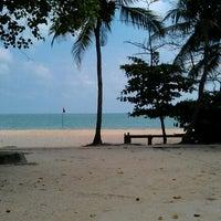Photo taken at Desaru Beach by JC E. on 11/17/2012