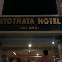 Photo taken at Ayothaya Hotel by nattipat s. on 5/28/2013