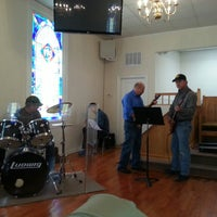Photo taken at Rehoboth Baptist Church by Melody N. on 2/16/2013