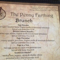 Photo taken at The Penny Farthing by M G. on 9/29/2012