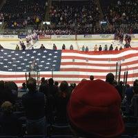 Photo taken at Webster Bank Arena by Kevin on 1/20/2013
