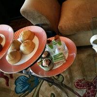Photo taken at Tea Lounge at Mandarin Oriental, Las Vegas by Ann O. on 10/20/2015