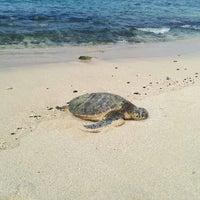 Photo taken at Kukio Beach @ Four Seasons by Manuel G. on 11/25/2015