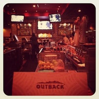 Photo taken at Outback Steakhouse by Britt H. on 10/7/2012