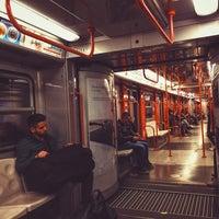 Photo taken at Metro Turro (M1) by Marco L. on 4/3/2016