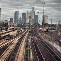 Photo taken at Frankfurt (Main) Hauptbahnhof by Robert B. on 10/17/2012