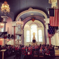 Photo taken at St. Paul's Chapel by Lidia S. on 12/31/2012