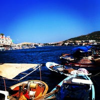 Photo taken at Foça by MeRTs on 7/22/2013